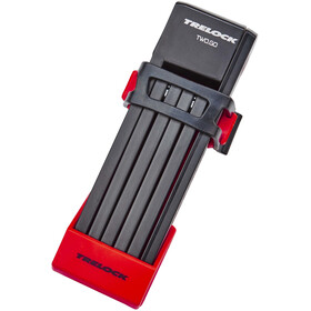 Trelock FS 200/75 TWO.GO candado plegable 75 cm, red
